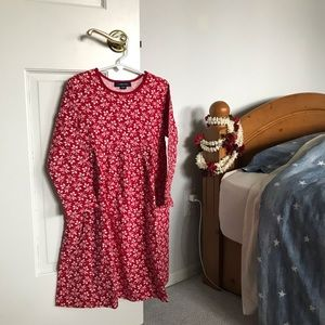 long sleeve red dress !!
